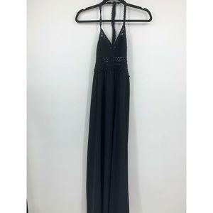 Abercrombie & Fitch womens XS dress maxi crochet